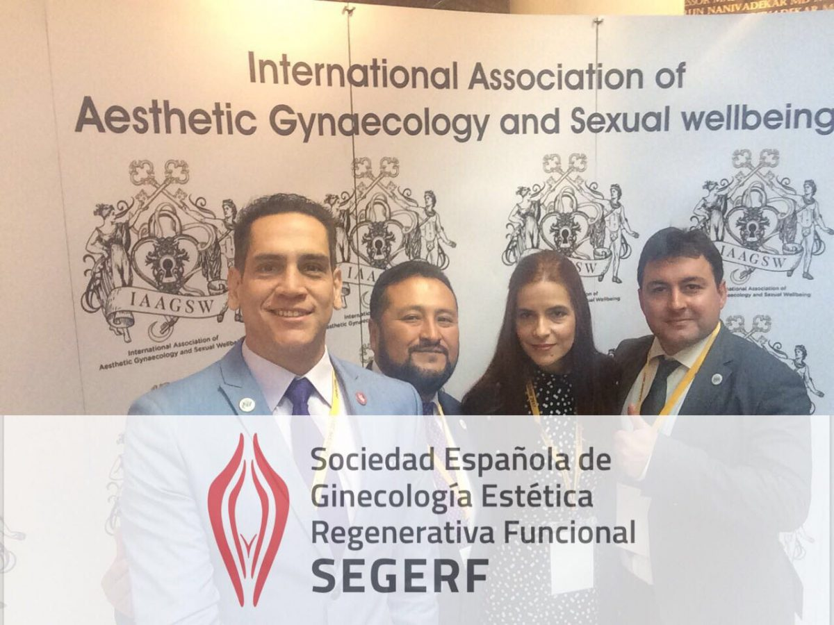 SEGERF estuvo presente en el  I Congreso Internacional de INTERNATIONAL ASSOCIATION of AESTHETIC GYNECOLOGY and SEXUAL WELLBEING, ( IAAGSW )